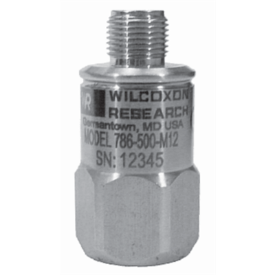 Model 786-500-M12 General Purpose Low-Frequency Accelerometer