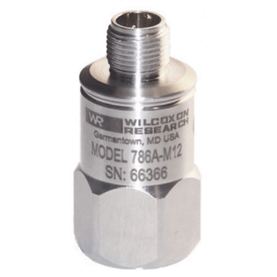 Model 786A-M12-IS General Purpose Intrinsically Safe Accelerometer