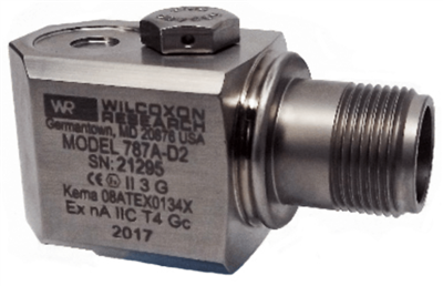 Model 787A-D2 Class I Division 2 Certified Accelerometer