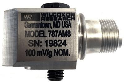 Model 787A-M8-D2 Low Profile Industrial Accelerometer