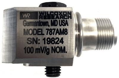 Model 787A-M8-IS Low Profile Industrial Accelerometer