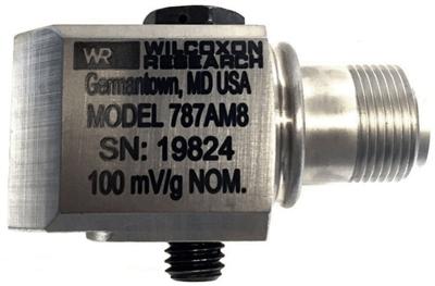 Model 787A-M8 Low Profile Industrial Accelerometer
