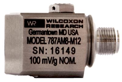Model 787AM8-M12 Low Profile General Purpose Accelerometer
