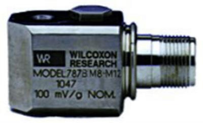 Model 787BM8-M12 Low Profile, General Purpose Accelerometer