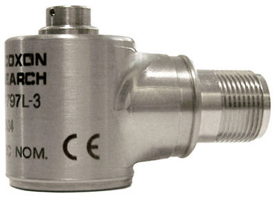 Model 797L-3 Low Profile Low-Frequency Industrial IsoRing Accelerometer