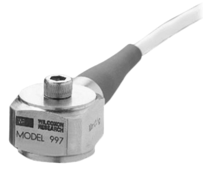 Model 997 Series High Frequency Integral Cable Accelerometer