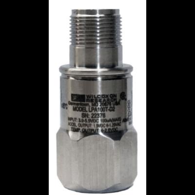 Model LPA100T-D2 Certified Low-Power Low-Voltage Accelerometer